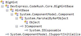 DXCore Big hint hierarchy