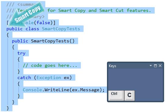 CodeRush Smart Copy on a type declaration
