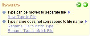 CodeRush Code Fix hint