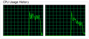 Refactor! CPU usage history #1