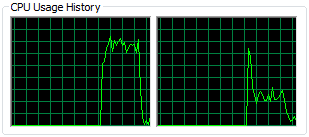 Refactor! CPU usage history #5