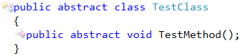 CodeRush Abstract Member Cannot Be Declared In Non Abstract Class Fix 1