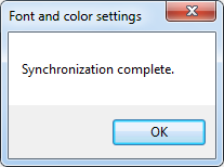 IDE Tools Settings Font And Color Synchronization