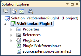 New DXCore VSIXStandardPlugIn project files