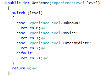 CodeRush Case Statement Do Not Explicitly Handle All Enum Values Fix #2