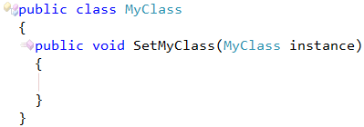 CodeRush Member Names Cannot Be The Same As Their Enclosing Type Fix 2
