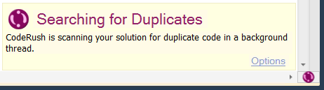 CodeRush Searching For Duplicates Hint