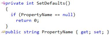 CodeRush Code Templates Sample - If Null Return Zero