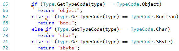 CodeRush bookmark index preview