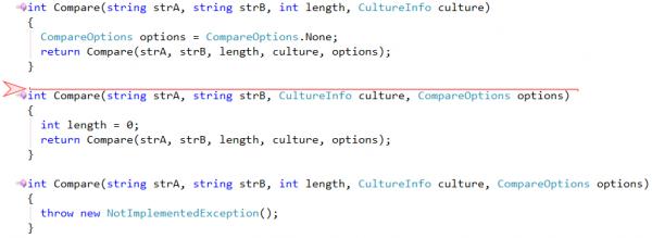 CodeRush Create Overload target picker