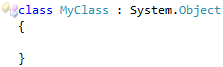 CodeRush Cannot inherit from special class System.ValueType