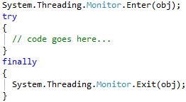 CodeRush Lock to Try/Finally result