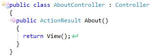 CodeRush Declare Controller Result