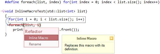 CodeRush Inline Macro Preview