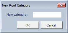 CodeRush Templates New Root Category Dialog